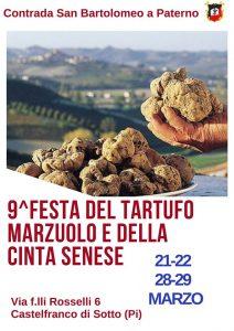 9° Festa del Tartufo Marzuolo e della Cinta Senese