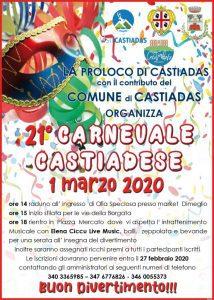 Carnevale Castiadese - 21° edizione