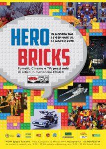 HERO BRICKS. Fumetti, Cinema e TV