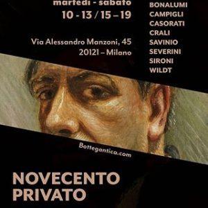 NOVECENTO PRIVATO. Da De Chirico a Vedova