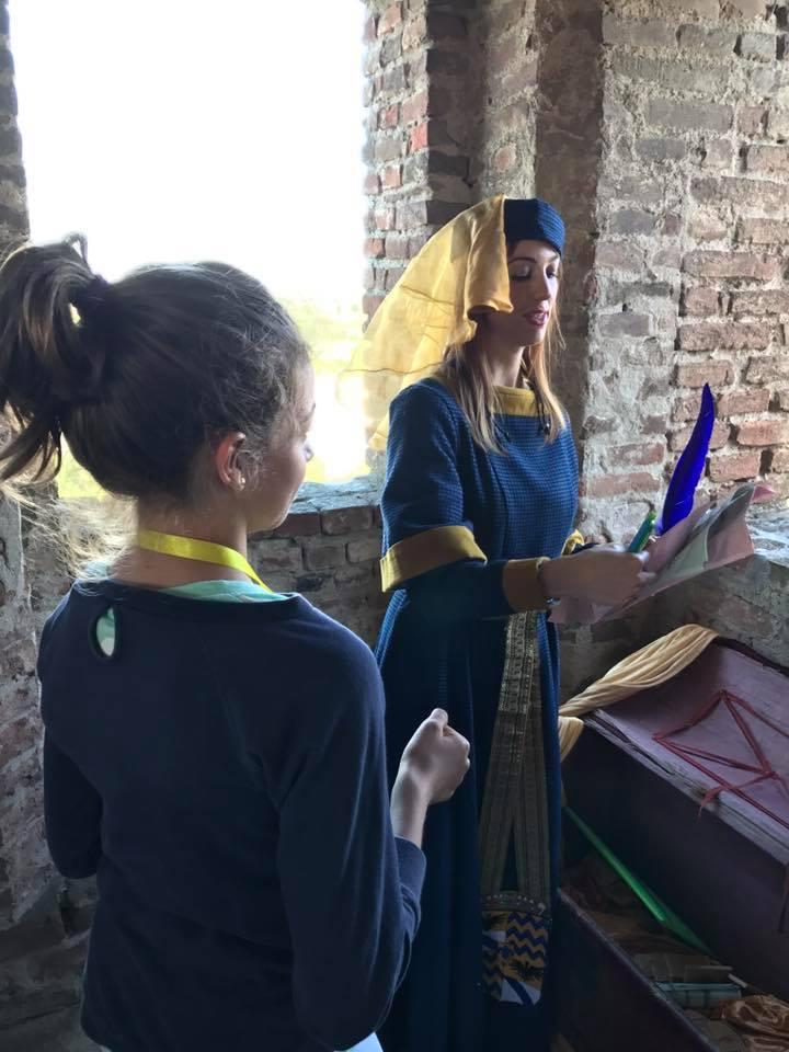 Bianchina e l'Incantesimo al Castello di Rivalta