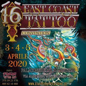 East Coast Tattoo Convention - 16° edizione