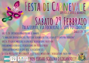 Festa di Carnevale - edizione 2020