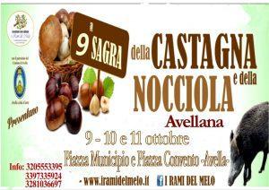 Sagra della Castagna e della Nocciola Avellana - 9° edizione