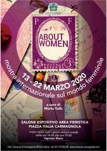 ABOUT WOMEN. Mostra Internazionale Sul Femminile