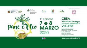 Pane e Olio - edizione 2020