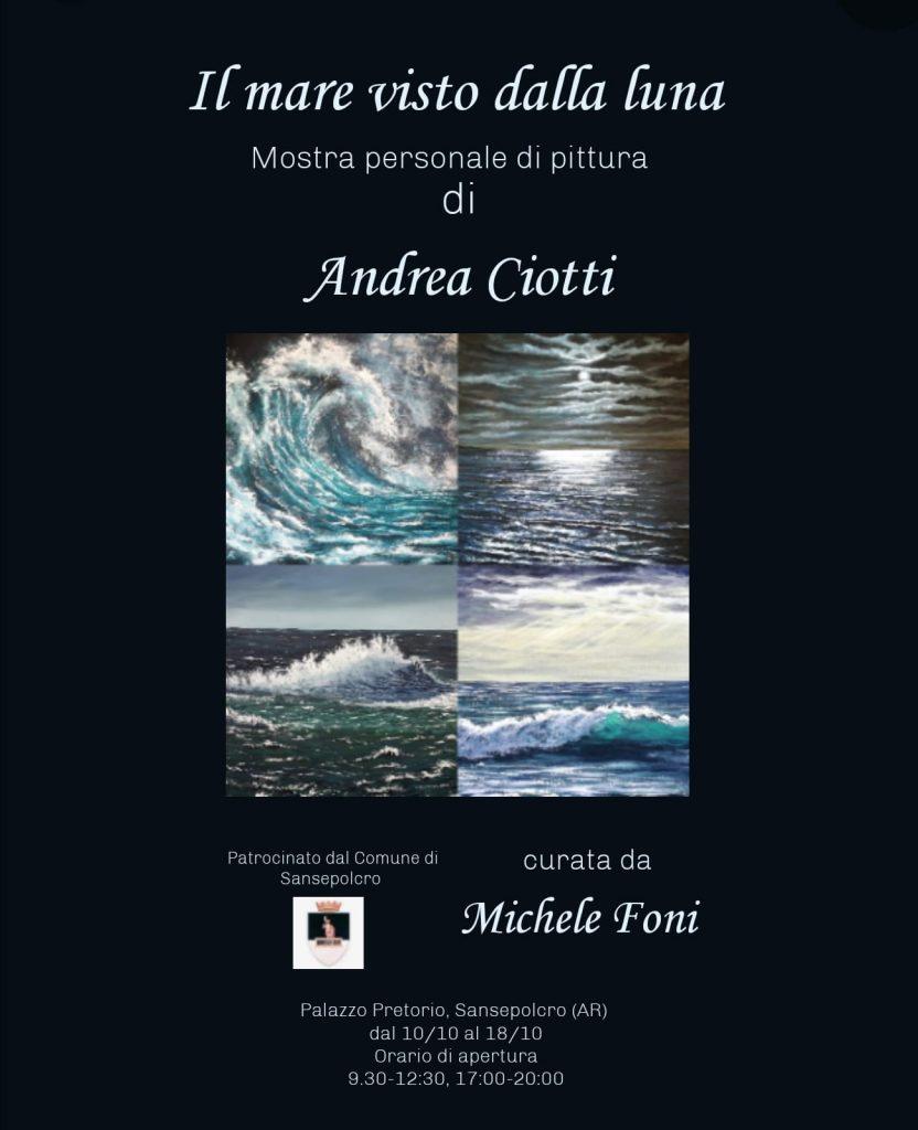 Il Mare Visto dalla Luna di Andrea Ciotti