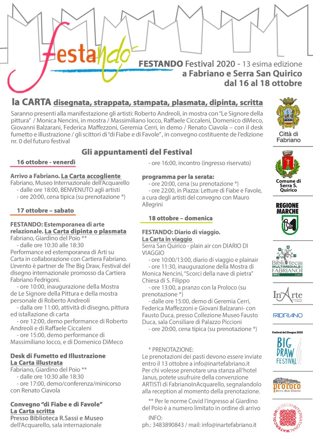 FESTANDO la CARTA Festival - 13° edizione