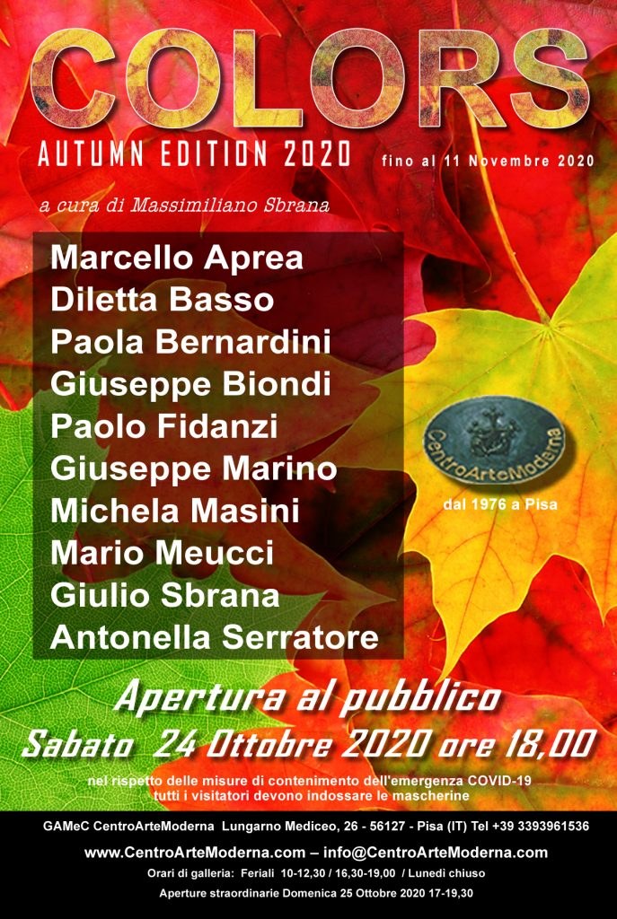 Colors: Autumn Edition 2020