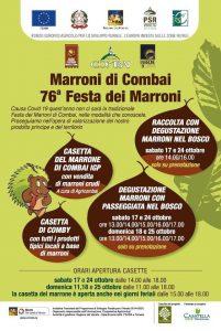 Festa dei Marroni di Combai - 76° Edizione