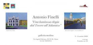 Antonio Finelli. Una Luminosa Elegia dal Tevere all'Atlantico
