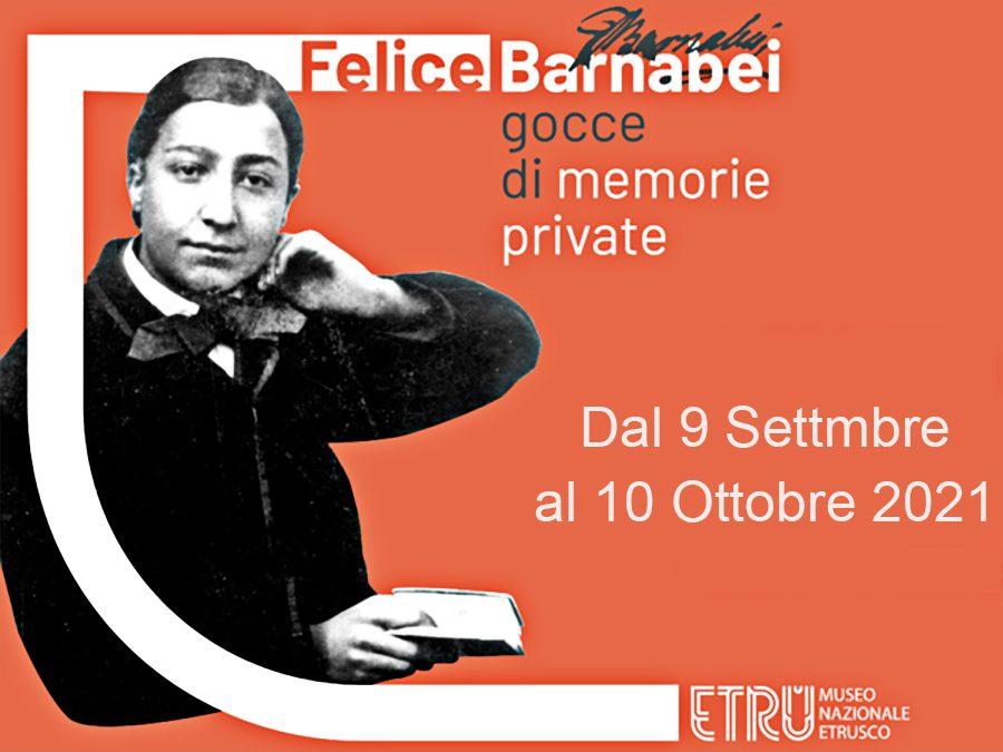 Felice Barnabei - Gocce di memorie private