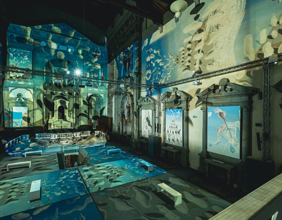 Inside Dalí - Mostra Immersiva
